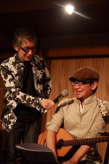 樫本学w/橘隆司 *Born ti cafta *山田直毅+あびこめぐみ... ichogo.l
